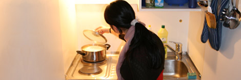 Selber Kochen als Teil der Verselbständigung