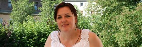 Hausleiterin Dipl.-Pädagogin Vera Schepsky